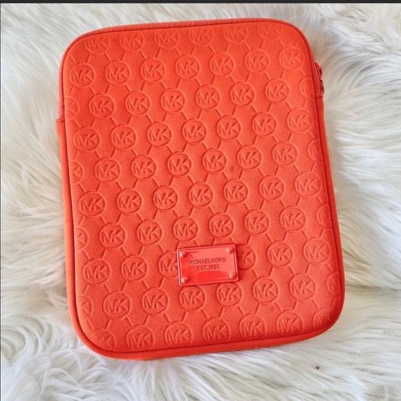 Michael kors orange tablet iPad case